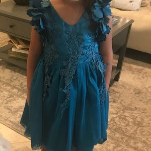 Other - Teal formal night dress